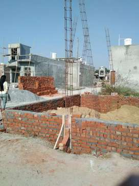 Residential plot in gated society