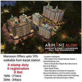 1bhk township project walkable from karjat station