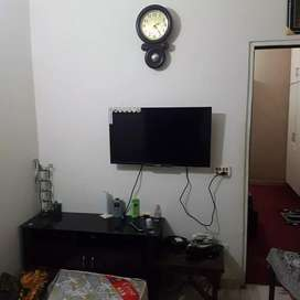One Bedroom washrooms kitchen tv lunch for sale flat