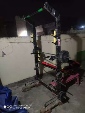 Multi purpose exercise Heavy duty Home gym set
