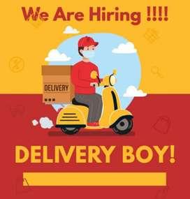 Delivery boy job