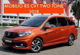 LIMITED! MOBILIO RS CVT TWOTONE 2018