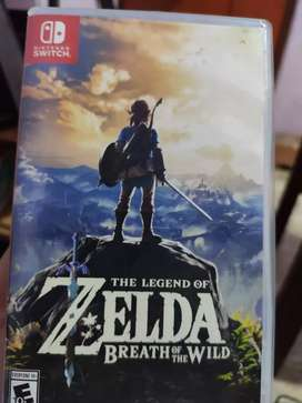 Game Nintendo Switch, Zelda Breath Of The Wild.