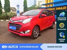 [OLX Autos] Daihatsu Sigra 2016 1.2 R Deluxe A/T Merah #Mamin Motor