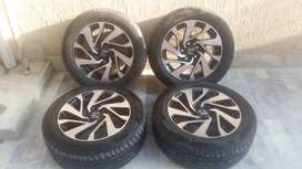 """Honda Civic 16 inch Alloy Rims with Tyres (Civic X Rims 16""""))"""