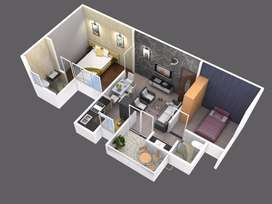 2 BHK Flat for Sale in Ashwamedh Brilliance at Ravet at 39L to 48 lakh