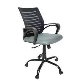 C104 Medium-Back Mesh Office/Study Chair[Grey]