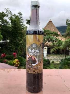 Madu Klanceng Hitam Botol Kaca 460ml by Madu ZD