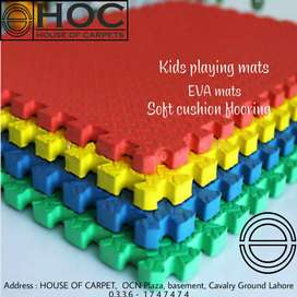 Kids flooring, soft cushion mats, rubber flooring