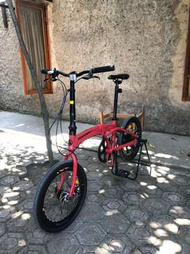 Sepeda lipat pacific veloce 2.0 20 inch
