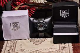 Tag Heuer CR-7 Matte Black Chronograph Wirst Watch Complete Box