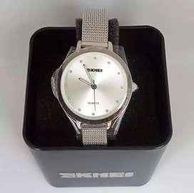 SKMEI 1291 Silver Stainless ORIGINAL jam tangan malang free cod