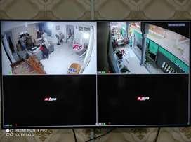 PAKET BERWARNA 24 JAM, KAMERA CCTV 2 CHANNEL 2MP