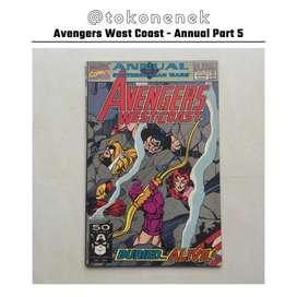 Komik Avengers West Coast annual part #5