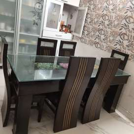 6 seater  dining table chair set