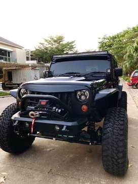 Jeep rubicon pentastar 3.6 engine 2013 ( asli rubicon )