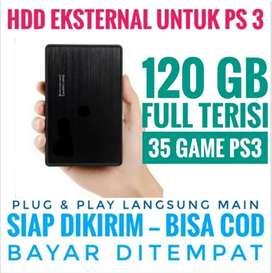 HDD 120GB Mantap Mrh Harganya FULL 35 GAME PS3 KEKINIAN Siap Dikirim