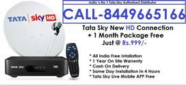 Cash On Delivery- Tata sky DTH -Airtel Dish tv D2H Tatasky - All Ind