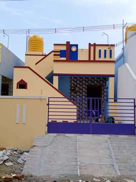 South facing 2bhk house for sale in veppampattu