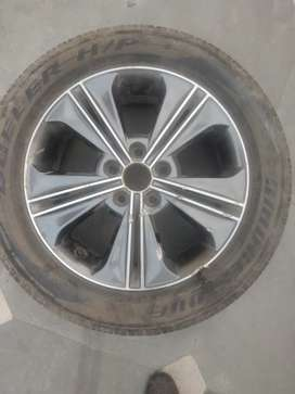 "Alloy wheel 17"" of Hyundai Creta"