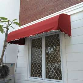 Kanopi minimalis atap kain waterproof