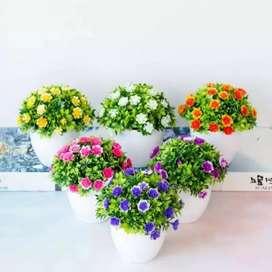 Bunga tanaman plastik C bonsai hias