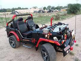 Modified open jeeps hunter