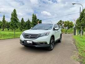 Honda CRV 2.4 Prestige AT 2013 / 2014 Matic Putih ,NO PR ,Siap Pakai