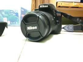 Jual NIKON D3400 DSLR Camera Set Komplit Kondisi Mulus