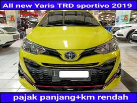 All New Yaris TRD Sportivo 1.5 Automatic / at 2019 Low Km