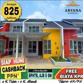 Rumah baru siap huni Harga Real Dekat pintu toll karawaci