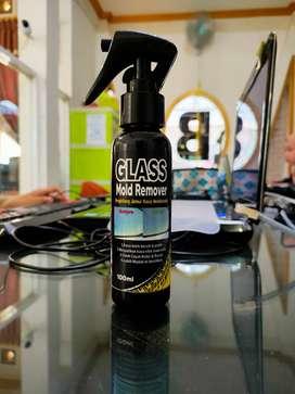 Hilangkan JAMUR yg menempel pd KACA dgn pakai GLASS MOLD REMOVER!