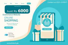 E-commerce,Website, Business Website