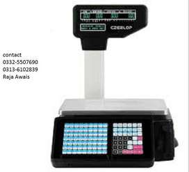 Label printing and Receipt printing weighing scale Available
