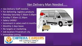 Van-Delivery Staff