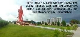 SKH. Get Rent 23,000/-pm. Invest 25Lakh Nr.Ahmedabad