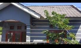 Rumah baru rehap atap baja ringan 45/124 letak strategis