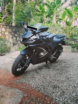 New Yamaha R15 v3 duel ABS single owner