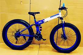 New bicycle with shimano gears