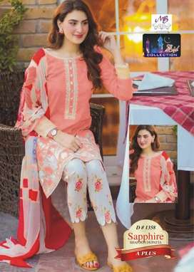 BRANDED designer suits at wholesale rate Embroidery , khaddar , lawn