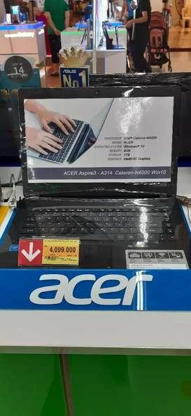 Laptop acer 14in cicilan 3 menit