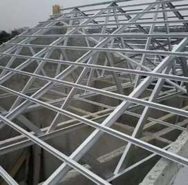 Perombakan atap baja ringan terbaik dan cepat