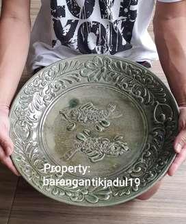 Piring Mangkuk kuno lawas antik