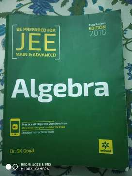 Algebra for JEE by Dr. SK Goyal