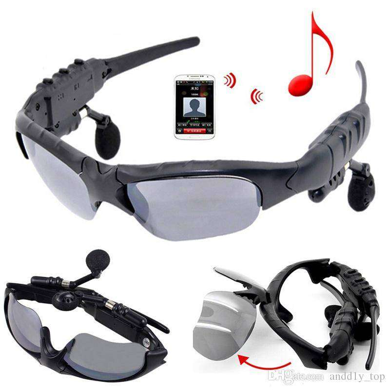 Stereo Bluetooth Sunglasses - Black 0