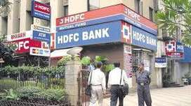 URGENT RECRUITMENT HDFC BANK MALE OR FEMALE BOTH