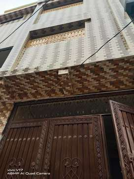 New house / Flats available Javed Town Gulbahar