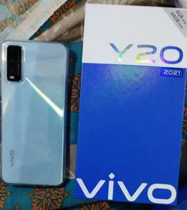 Vivo y20 in full warranty