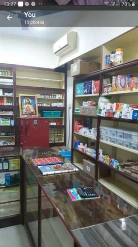 Medical Shop at Chennai Arumbakkam is for sale