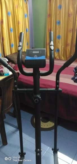 Elliptical magnetic crosstrainer